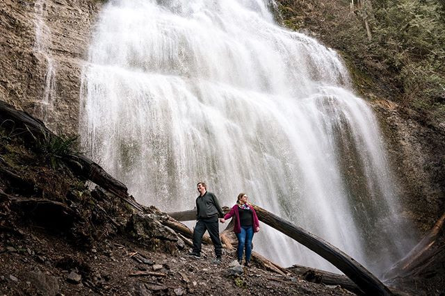 Bridal Falls engagement