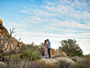 Giovana & Brandon - Joshua Tree National Park - California Wedding Photographer