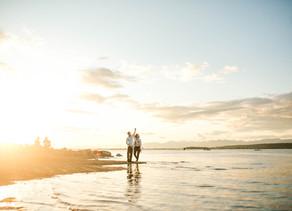 Laurel & Mike - Whiterock Engagement - Vancouver Wedding Photographer
