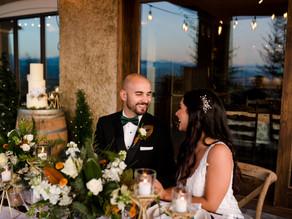 Bos Estate Vinyard Christmas Wedding - Fraser Valley Wedding Photographer