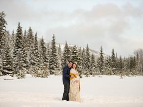 Alyssa & Matt - Manning Park Maternity Session - Manning Park Wedding Photographer