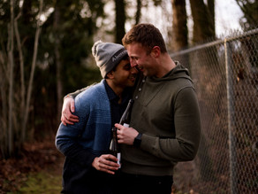 How to have fun and relax at your engagement session - Fraser Valley Wedding Photographer