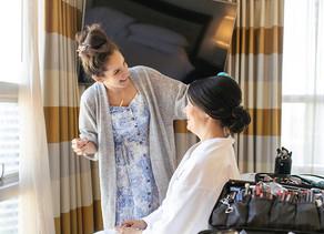 Wedding Hair & Make up - Dames & Dolls - Vancouver Wedding Photographer