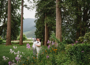Rick & Amanda - Rowenas Inn on the River - Fraser Valley Elopement Photographer