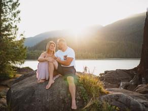 Sarah & Raul Stave Lake Engagement Session - Mission Wedding Photographer