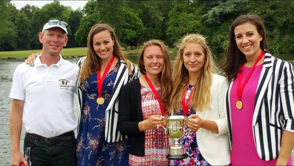 Elite Women's Four at HWR