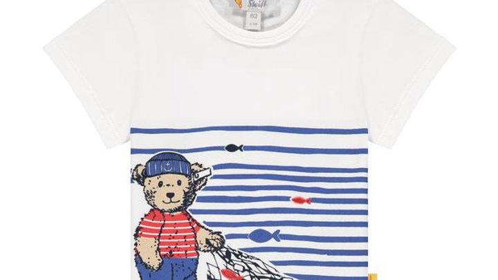 """T-Shirt """" Fischerbär """" Steiff"""