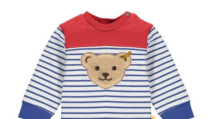 "Sweatshirt "" Bär"" gestreift Steiff"