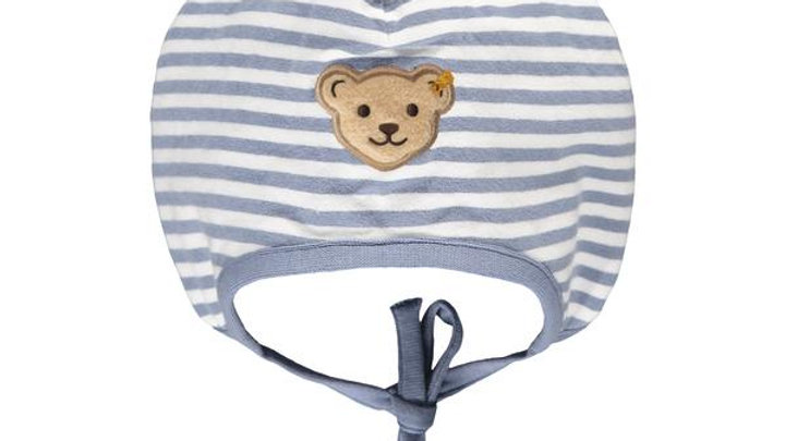Steiff Babymütze Blau Organic
