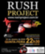 Rush Project - Tributo ao Neil Peart Caf