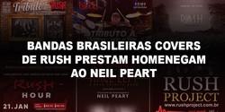 Bandas Tributos Covers Rush Neil Peart