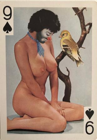 9 of Spades (Emmett Kelly)
