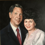 Portrait of Arnold and Joan