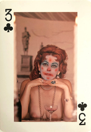 3 of Clubs (Champagne)