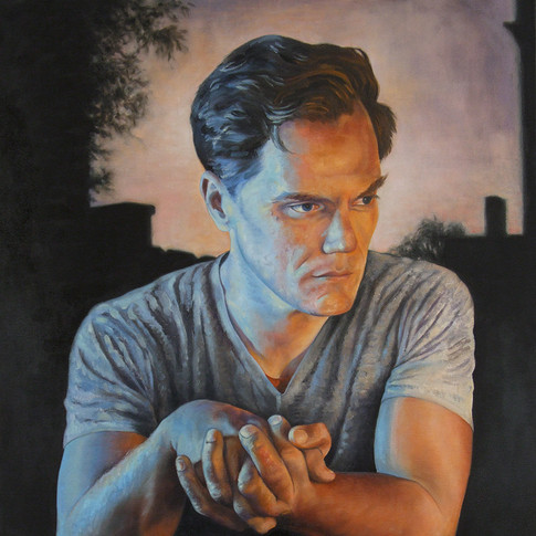 Michael Shannon (Clasped Hands)