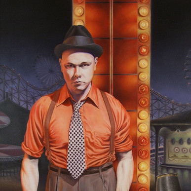 Strongman (Self Portrait)
