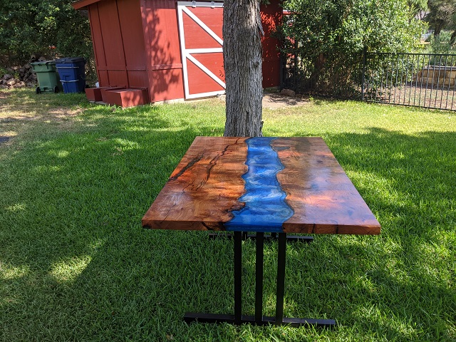 Mesquite river table, Glenn B_170331