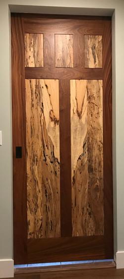 Bob Schmidt _Sapele Pecan Door detail 2.