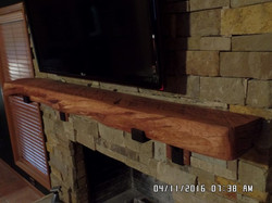 Red Oak Mantel G Mcdonald