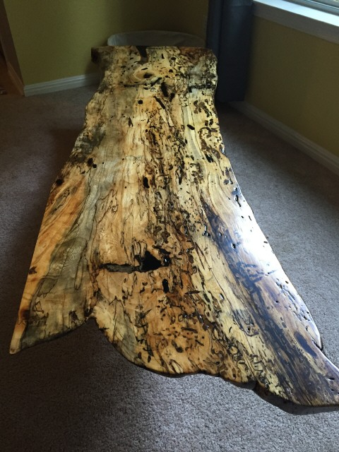 John Short, Spalted Hackberry0544