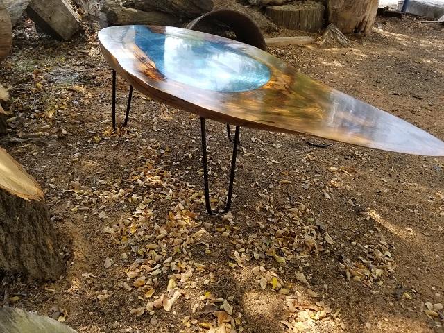 Pecan, lake table M. Burgess