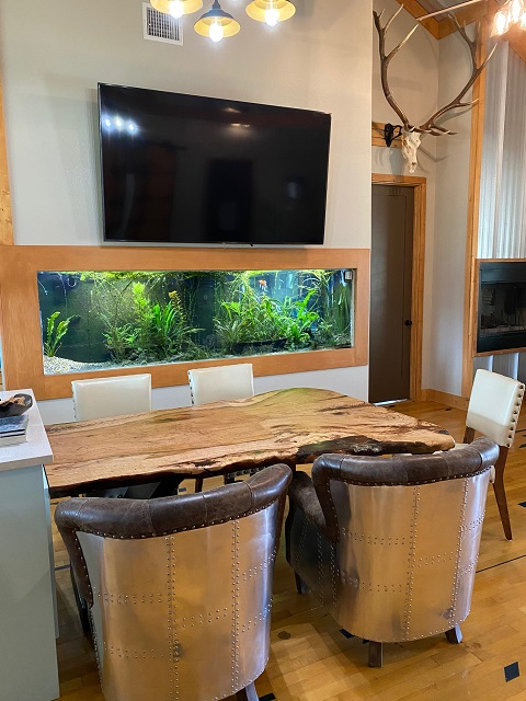 Hican Dinette table with customer furnis
