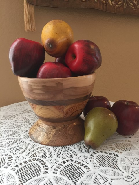 ron primrose laminated bowl 1093