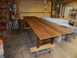 Barnwood Tressel Table 1657