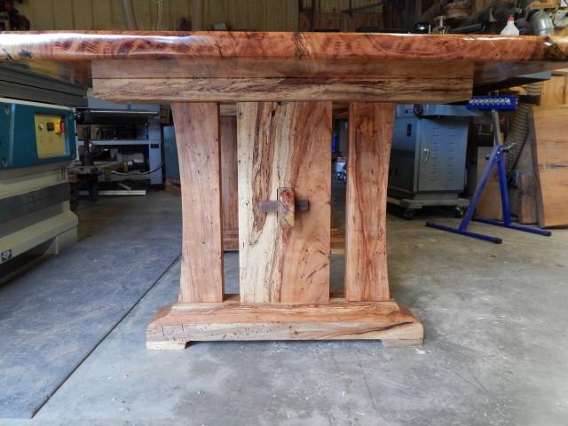 Pecan Table, B.Leatherwood 4064