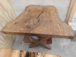 Live oak end table 4163