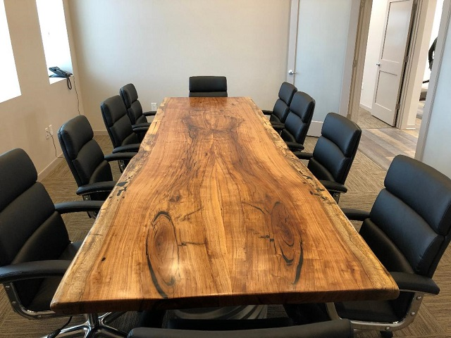Pecan Conference Table, Darrell Heald4