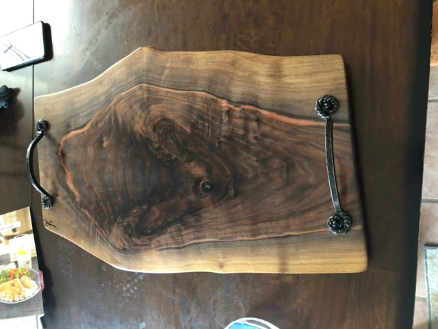 Charcuterie serving tray, Nathan warren2