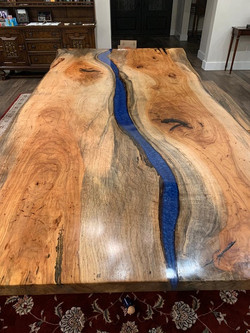 Pecan River Table, D. Almond 3