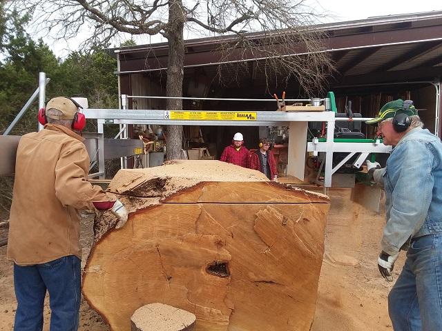 Lucas mill,58 inch live oak 20190218_091