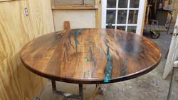 Mesquite Table  Tim Hess
