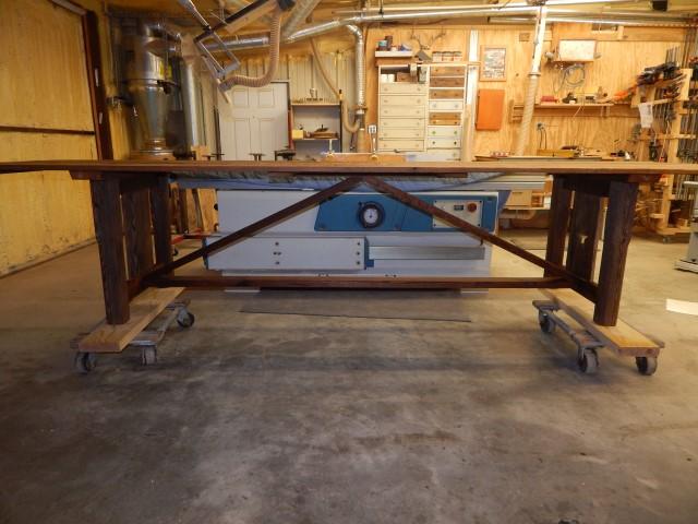 Barnwood Tressel Table 1656