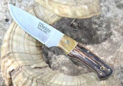 Knife, customskinnerramhornoakweige (Custom)