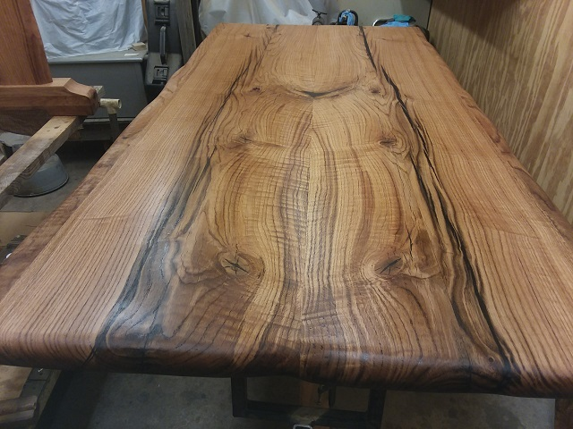 Water oak top, After