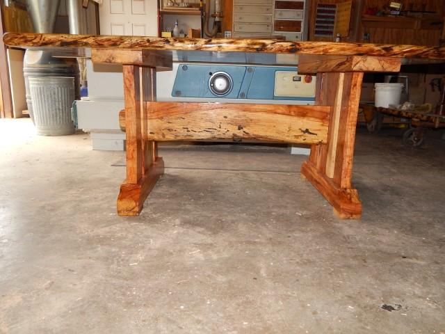 Pecan Table, B.Leatherwood 4071