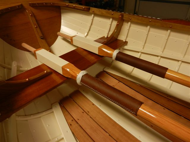 Gordon C. 7 foot rowboat with western red cedar planks , white oak frames 1.jpg