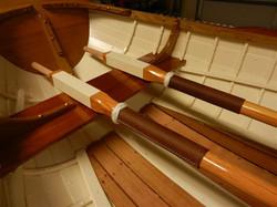 Gordon C. 7 foot rowboat with western red cedar planks , white oak frames 1.jpg