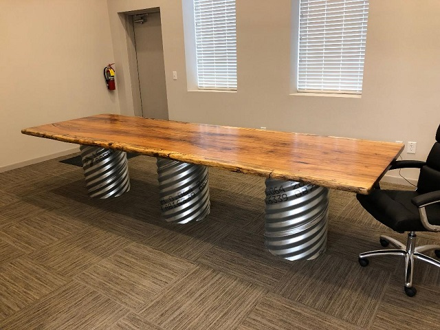 Pecan Conference Table, Darrell Heald1