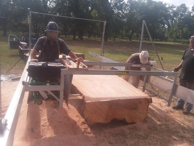 Lucas milling 60 inch pecan_101608