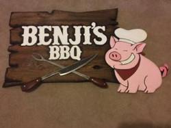 Bengi BBQ Sign--Jeff Stuewe