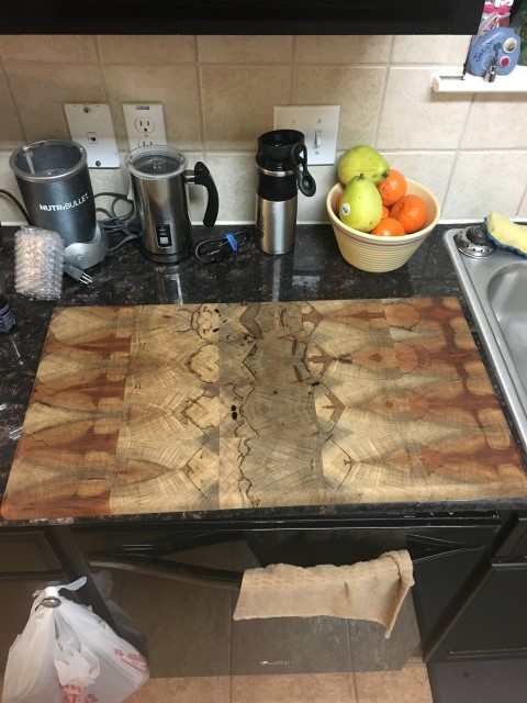 Pecan,spalted, Cutting-board,Pete Lehmann_3015