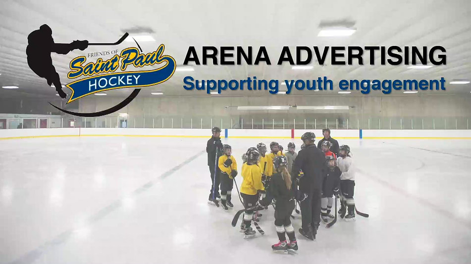 Friends of St. Paul Hockey Arena Advertising Video