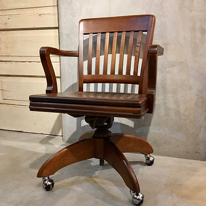 Arm chair with caster/CW01-08