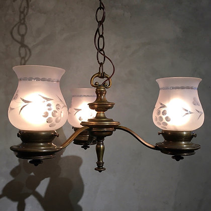 3 lights chandelier with shade/LP01-19