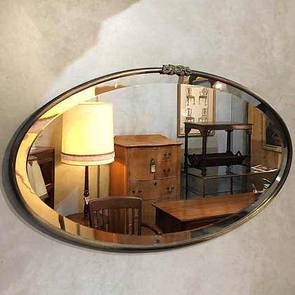 Oval wall mirror/OO01-23