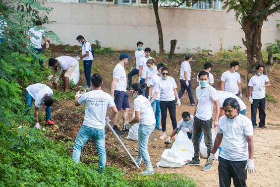 Corporate Clean Ups and Tree-Planting Drives